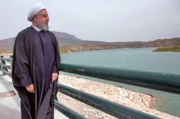 افتتاح هشت پروژه آب و خاک آذربایجان غربی به دست رئیس جمهوری