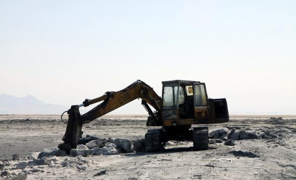 برداشت نمک از دریاچه ارومیه,اخبار اجتماعی,خبرهای اجتماعی,محیط زیست