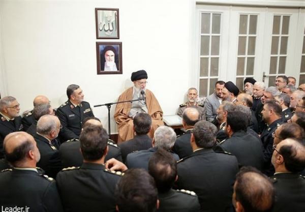 رهبر انقلاب: مقابله با خرید و فروش اسلحه در فضای مجازی وظیفه نیروی انتظامی است