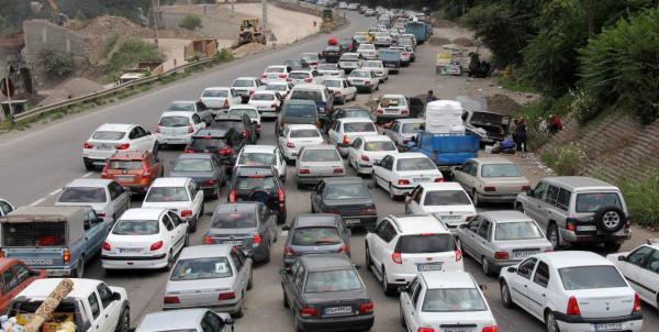 ترافیک,اخبار اجتماعی,خبرهای اجتماعی,وضعیت ترافیک و آب و هوا