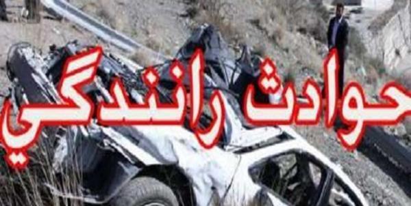 یک کشته و 4 مجروح در واژگونی خودروی پراید در تاکستان