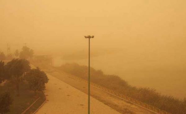 گرد و خاک,اخبار اجتماعی,خبرهای اجتماعی,وضعیت ترافیک و آب و هوا