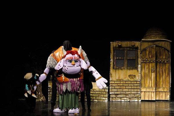 نمایش عروسکی غول بابا,اخبار تئاتر,خبرهای تئاتر,تئاتر
