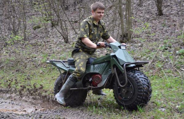 موتورسیکلت تاروس 2X2,اخبار خودرو,خبرهای خودرو,وسایل نقلیه