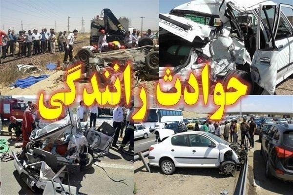 حادثه تصادف در شهرستان باوی,اخبار حوادث,خبرهای حوادث,حوادث