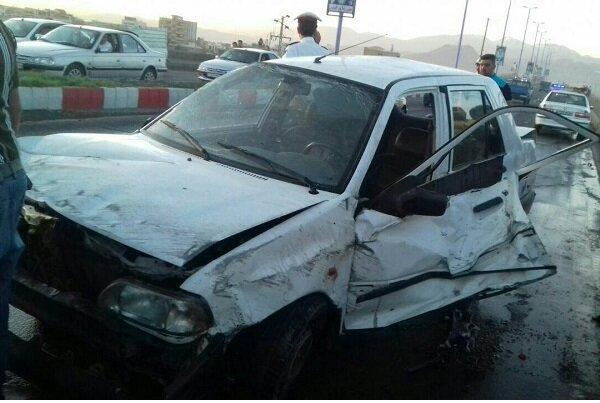 حادثه رانندگی در شهر مرند,اخبار حوادث,خبرهای حوادث,حوادث