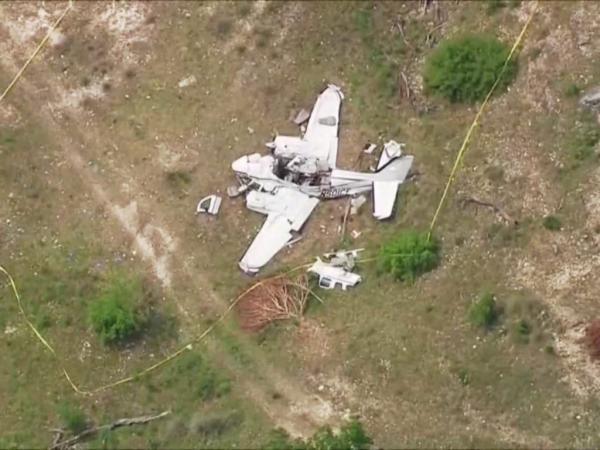سقوط هواپیما در تگزاس آمریکا جان 6 نفر را گرفت