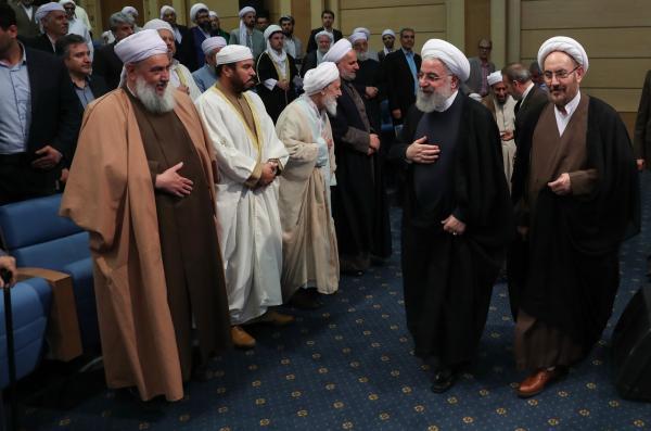دیدار روحانی با علما و فرهیختگان اهل سنت,اخبار سیاسی,خبرهای سیاسی,دولت