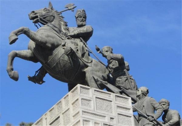 مجسمه نادرشاه افشار در مشهد,اخبار فرهنگی,خبرهای فرهنگی,میراث فرهنگی