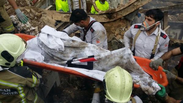 قربانیان حادثه انفجار در تهران به ۳ نفر رسید