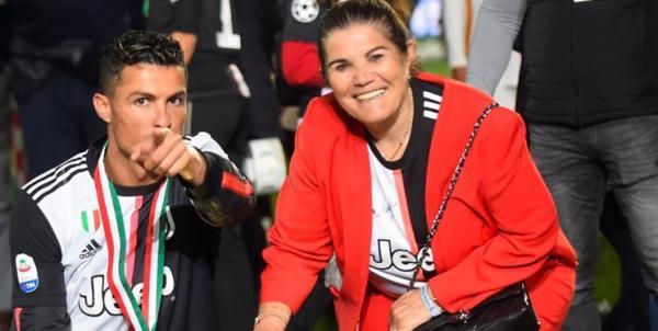 کریستیانو رونالدو و مادرش,اخبار فوتبال,خبرهای فوتبال,اخبار فوتبالیست ها