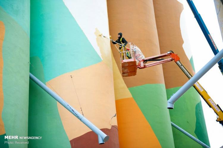 تصاویر موزه هنر در فضای باز،عکس های موزه هنر در فضای باز در اسپانیا،تصاویری از موزه هنر در فضای باز اسپانیا