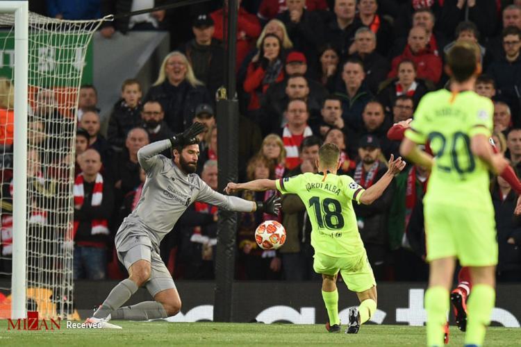 تصاویر دیدار تیم بارسلونا و لیورپول,عکس های لیونل مسی,تصاویر شکست تیم بارسلونا مقابل لیورپول