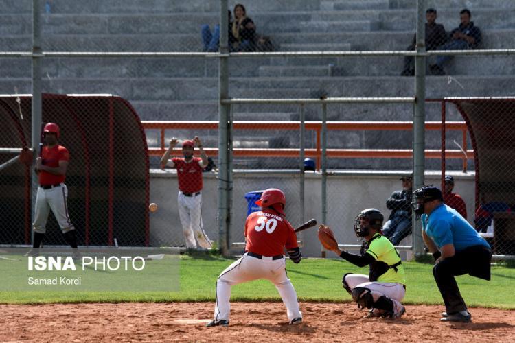 عکس بیسبال,تصاویر بیسبال ایران,عکس لیگ دسته یک بیسبال کشور
