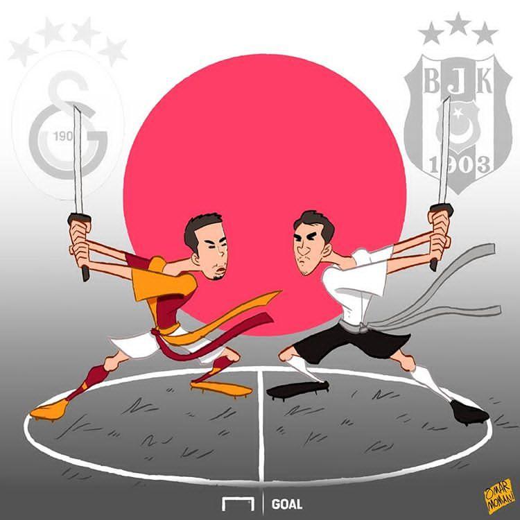 کارتون نبرد ساموراییها در ترکیه,کاریکاتور,عکس کاریکاتور,کاریکاتور ورزشی