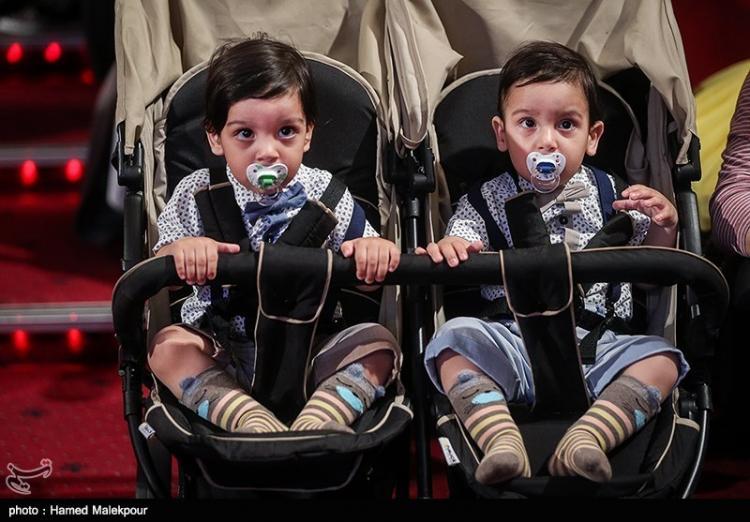 عکس دوقلوها,تصایر دوقلوها,عکس جشن ملی روز دوقلوها