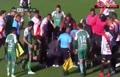 فیلم/ مرگ ناگهانی داور بولیویایی وسط زمین فوتبال