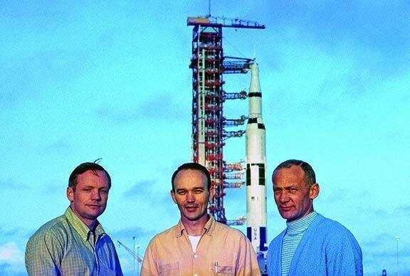تصاویر ماموریت آپولو ۱۱,عکس های ماموریت آپولو ۱۱,تصاویر پرتاب فضاپیمای آپولو ۱۱ به ماه