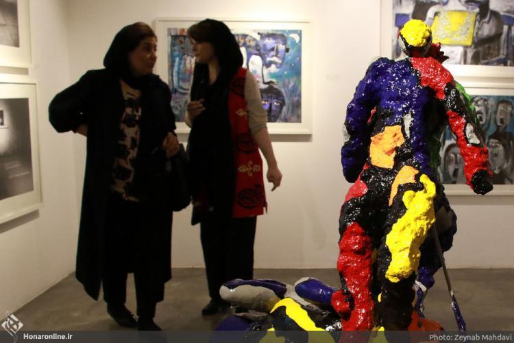 تصاویر نمایشگاه نئواکسپرسیونیسم در هنر معاصر,عکس های نمایشگاه نئواکسپرسیونیسم در هنر معاصر,تصاویر گالری شیرین