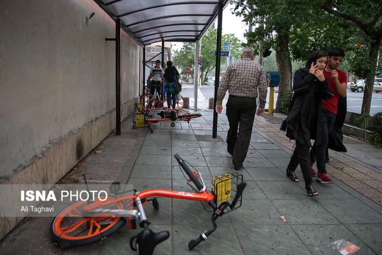 عکس طوفان تهران,تصاویر طوفان تهران،عکس خسارات طوفان تهران