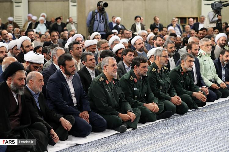 تصاویر دیدار مسئولان نظام با رهبر معظم انقلاب اسلامی,عکس های دیدار فعالان سیاسی و رهبر انقلاب,تصاویر دیدار حسن روحانی و رهبر انقلاب