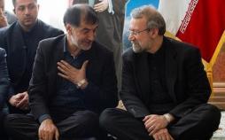 محمدرضا باهنر و علی لاریجانی,اخبار انتخابات,خبرهای انتخابات,انتخابات ریاست جمهوری