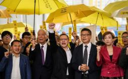 رهبران جنبش چتر هنگکنگ,اخبار سیاسی,خبرهای سیاسی,اخبار بین الملل