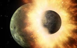 برخورد سیاره کوتوله و ماه,اخبار علمی,خبرهای علمی,نجوم و فضا