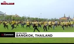 فیلم/ جشن دانههای مقدس برنج در تایلند