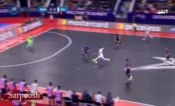 فیلم/ گل زیبای حسین طیبی به تیم فوتسال بارسلونا