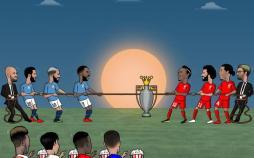 کاریکاتورقهرمانی لیگ برتر انگلیس,کاریکاتور,عکس کاریکاتور,کاریکاتور ورزشی