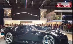 ویدئو/ ماشین رونالدو؛ بوگاتی La Voiture Noire گران ترین خودرو تولیدی جهان