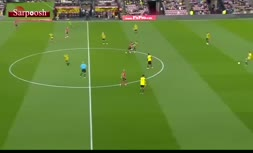 ویدئو/ سریعترین گل تاریخ لیگ برتر انگلیس در ۷ ثانیه