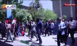 فیلم/ اعتراضات در دانشگاه تهران (اردیبهشت 98)