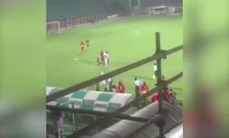 ویدئو/ نزاع و درگیری در لیگ برتر فوتبال بانوان