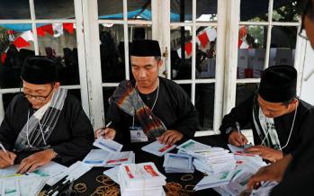 شمارش آرا درانتخابات اندونزی,اخبار حوادث,خبرهای حوادث,حوادث امروز