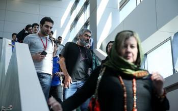 تصاویر سیوهفتمین جشنواره جهانی فیلم فجر,عکس های نیکی کریمی,تصاویر چهارمین روز سیوهفتمین جشنواره جهانی فیلم فجر