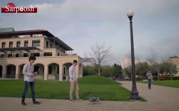 فیلم/ رباتی با قابلیت پرواز و رقص