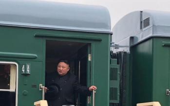 تصاویر کیم جونگ در روسیه,عکس های کیم جونگ اون,تصاویر رهبر کره شمالی