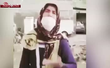 فیلم/ صحبتهای یک زن سیل زده از وضعیت زندگی اش و انتقادش از مسئولین