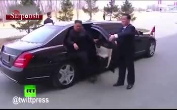 فیلم/ لحظه تاریخی ملاقات اون و پوتین در روسیه + رفتار عجیب تیم همراه رهبر کره شمالی