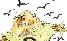 حضور سرژ بورلی در کنار ویلموتس,کاریکاتور,عکس کاریکاتور,کاریکاتور ورزشی