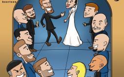 کاریکاتور غیبت رونالدو در مراسم ازدواج سرخیو راموس,کاریکاتور,عکس کاریکاتور,کاریکاتور ورزشی