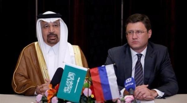 وزیر انرژی روسیه وزیر انرژی عربستان,اخبار اقتصادی,خبرهای اقتصادی,نفت و انرژی