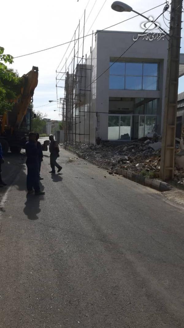 تخریب ویلای شبنم نعمتزاده در لواسان,اخبار اجتماعی,خبرهای اجتماعی,شهر و روستا