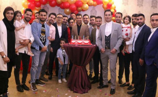 جشن تولد شجاع خلیلزاده,اخبار فوتبال,خبرهای فوتبال,اخبار فوتبالیست ها