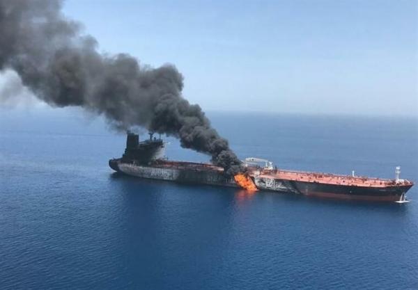 انفجار کشتی های نفتکش در دریای عمان,اخبار سیاسی,خبرهای سیاسی,اخبار بین الملل