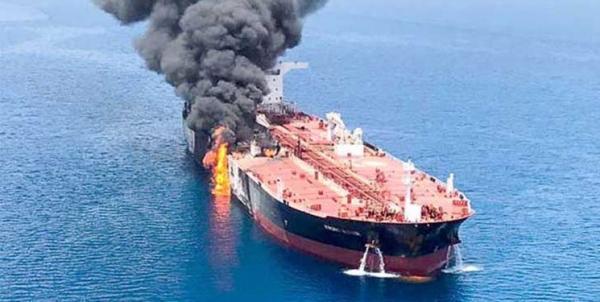 انفجار نفکتش ها در دریای عمان,اخبار اقتصادی,خبرهای اقتصادی,نفت و انرژی