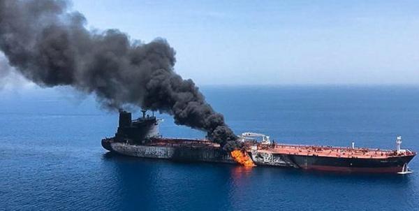 انفجار نفتکش ها در دریای عمان,اخبار اقتصادی,خبرهای اقتصادی,نفت و انرژی