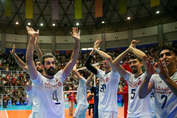 تیم والیبال ایران,اخبار ورزشی,خبرهای ورزشی,والیبال و بسکتبال